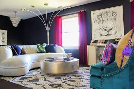 room with black walls how to decorate with black walls