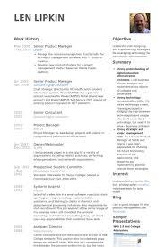 Higher Education Resume Samples by Senior Product Manager Resume Samples Visualcv Resume Samples