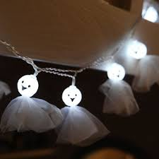 halloween ghost string lights 10 led halloween ghost string lights decorated colored l 9 09