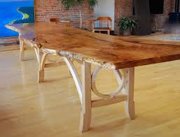 Big Meeting Table Hand Crafted Big Leaf Maple Conference Table By Geoffrey Warner