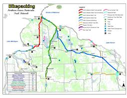 Cardinal Greenway Map Gr8lakescamper Biking Trails Offer Many Options To Get Outside