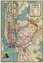 Brooklyn Subway Map by Old Subway Map Transit Pinterest Subway Map Nyc Subway And