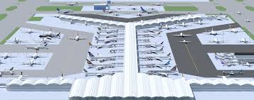 Hong Kong Airport Floor Plan by Hong Kong International Airport Minecraft Project