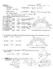 triangle sum and exterior angle theorem worksheet with key x m 0