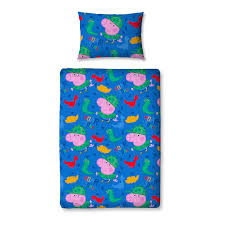 Peppa Pig Toddler Duvet Cover Peppa Pig Toddler Bedding Range Peppa Pig George At Asda