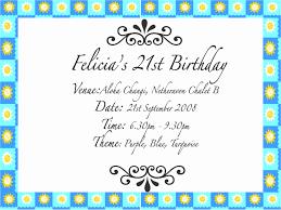 birthday invitations 21 birthday invitation wording cloudinvitation