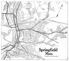 Springfield Map Massachusetts City Maps At Americanroads Com