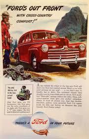 Vintage Ford Truck Ads - vintage ford car ads