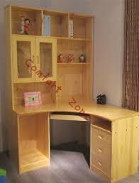 Corner Computer Table Corner Computer Cabinets Pine Wood Furniture Solid Wood Desk
