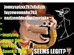 woody meme by mxleo1 on deviantart
