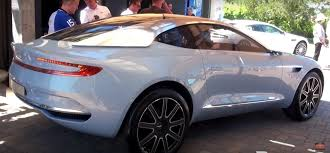 concept aston martin aston martin dbx concept makes us debut at pebble beach in new