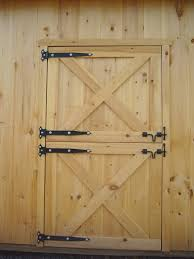 How To Pole Building Construction by Dutch Barn Doors How To Build Dutch Door Page To Learn About