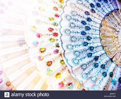 handheld fans handheld fans chinatown nyc stock photo royalty free image