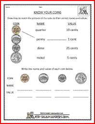 free math money worksheets counting same value coins for amelie