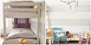 Triple Bunk Bed U Ikea Sorta Hack Mounted Floating Drawers As - Ikea mydal bunk bed