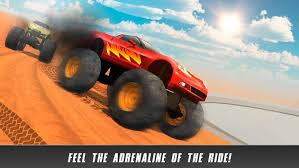 crazy monster truck derby race apk download free racing game