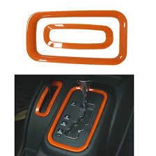orange jeep 2016 orange 6pcs interior decoration cover trim kits for 2011 2016 jeep