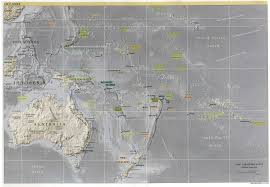 Map Of Oceania Index Of Maps Australia