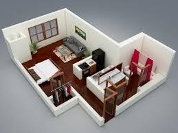 Planos De Apartamentos Pequeños De Un Dormitorio Small Apartment - Apartments design plans