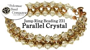 crystal ring bracelet images Make a 39 parallel crystal 39 bracelet jpg