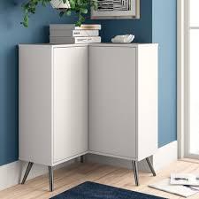 how to clean corners of cabinet doors raynham 2 door corner accent cabinet wayfair