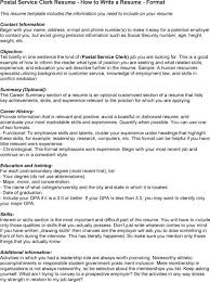 service clerk sample resume essays on the digestive system short gut superintendent roles and