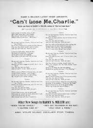 Youre A Grand Old Flag Lyrics Can U0027t Lose Me Charlie 1893 U2013 Sheet Music Songbook