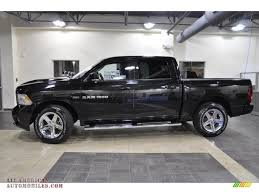 2011 dodge ram 1500 extended cab 2011 dodge ram 1500 sport crew cab in brilliant black