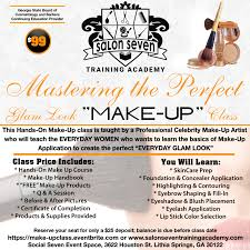 makeup classes atlanta ga mastering the glam look make up class tickets sun apr