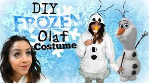 Olaf Costume Diy Disney U0027s Frozen Olaf Halloween Costume U0026 Frost Bitten Makeup