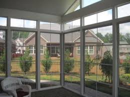 concord nc screened porch floor to ceiling windows screened