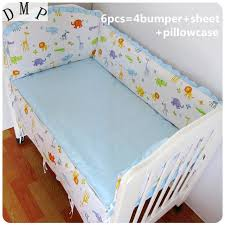 Crib Bedding Sets For Cheap Promotion 6pcs Free Shipping Baby Crib Bedding Sets Cheap