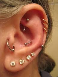 ear piercing hoop 50 beautiful ear piercings ear piercings piercings and 50th