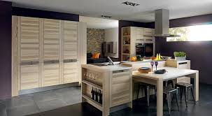 cuisine avec piano central bien cuisine avec piano central 4 cuisine en bois moderne