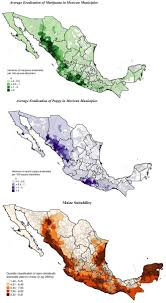 Map Of Sinaloa Mexico by How Agricultural Price Shocks Affect Mexico U0027s Drug Trade