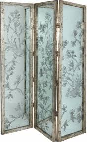 Antique Room Divider Mirrored Room Dividers Three Panel Foter 4 Decorative Screens