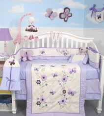 Baby Cribs Decorating Ideas by Amazon Com Soho Lavender Flower Garden Baby Crib Nursery Bedding