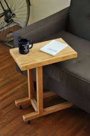 Making Wooden End Table by