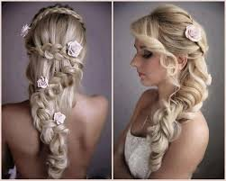 wedding hairstyle long hair down popular long hairstyle idea
