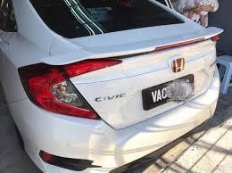 honda civic spoiler brake light honda civic fc spoiler rs with paint bodykit car accessories
