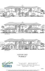 Pueblo House Plans by Valley Heights Estates Plan 14 Pueblo