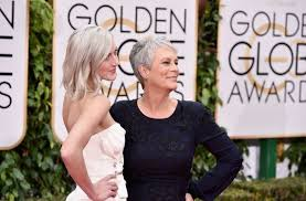 how to get jamie lee curtis hair color jamie lee curtis and her daughter annie guest both have grey hair