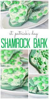st patrick u0027s day shamrock bark recipe