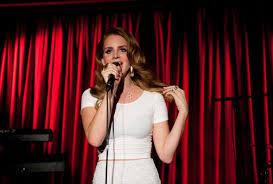 Schlafzimmerblick Frau Lana Del Rey Und Ihr Album