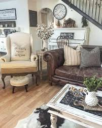 rustic living room furniture ideas with brown leather sofa rustic leather living room furniture uberestimate co