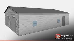 dimensions of a two car garage carport com buy custom carports garages or metal buildings by photo