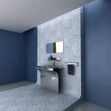 blue bathroom decor brown and country blue bathroom decor dark brown lacquered wooden