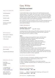 Kitchen Staff Resume Sample by Food Service Assistant Resume Sales Assistant Lewesmr