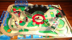 train and track table thomas and friends train table like at chapters or toysrus with all