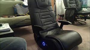 Walmart Game Chairs X Rocker Xrocker H3 4 1 Gaming Chair 1 Month After Review Youtube